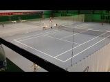 Детские соревнования по теннису